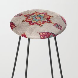 N251 - Oriental Traditional Vintage Moroccan Style  Counter Stool