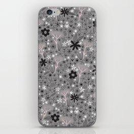 teeny floral print iPhone Skin
