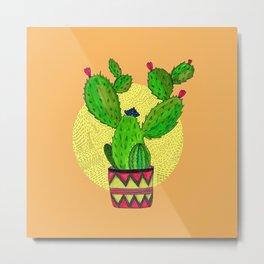 Barb.ara the Cactus Metal Print