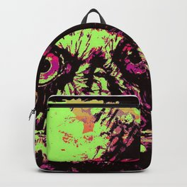 Rainbow Spectacled Owl Backpack