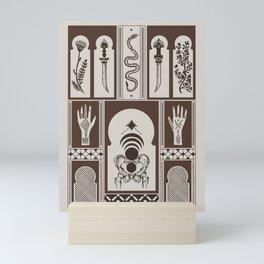 Moroccan Daggers Mini Art Print