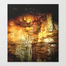 Reflections inside a Dolomite Cave Canvas Print