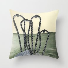 Maybe if you got it out of the pool it wouldn't look like that Throw Pillow