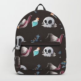 Halloween Witchy Pattern Backpack