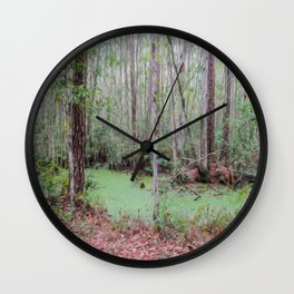 Submerge Your Worries Wall Clock
