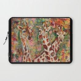 Giraffes Laptop Sleeve