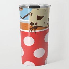 Relax. Don't Crumble! Travel Mug