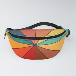 Color Clock Fanny Pack