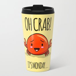 Crabby Day! Travel Mug