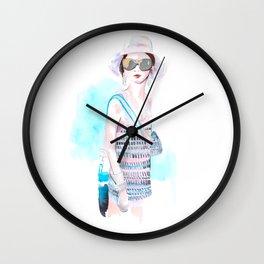 SpringChanel no 1 Wall Clock