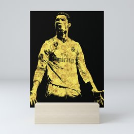 Ronaldo Fan Art Mini Art Print