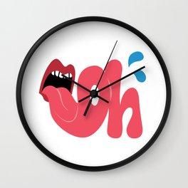 Oh Shirt! Wall Clock