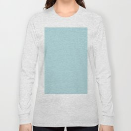 Simply Pretty Blue Long Sleeve T-shirt