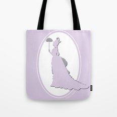 The Historical Fashion Plate Series: Victorian Lady Tote Bag