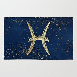 Pisces Zodiac Sign Rug