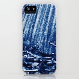 Like Blue Salmons iPhone Case