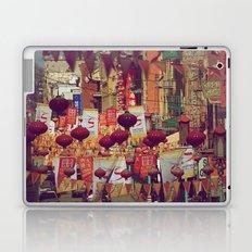 A Walk Through China Town Laptop & iPad Skin