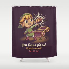 The Legendary Pizza Shower Curtain