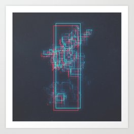 DAY 305: A PERFECTED STANDARDIZED ARCHIVAL METHOD V1 (UNIVERSAL) Art Print