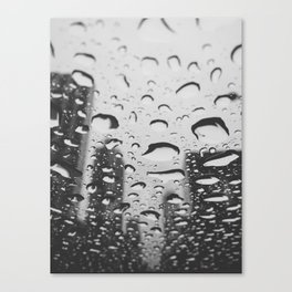 Rainy Brickell Canvas Print