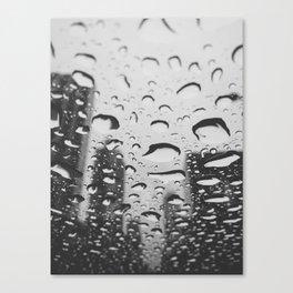 Rainy Brickell Canvas Print