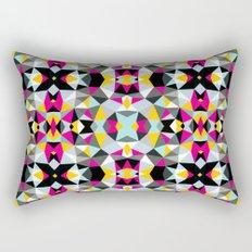 Comic Book Tribal Rectangular Pillow
