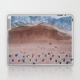 Beach Print, Contemporary Beach, Aerial Beach Laptop & iPad Skin