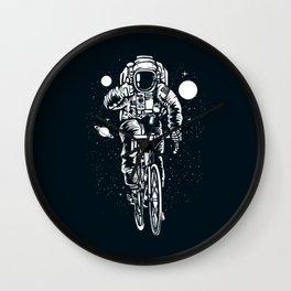 Crazy Astronaut Wall Clock