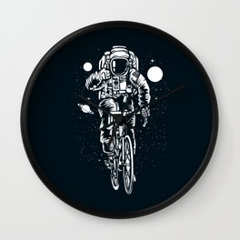Crazy Astronaut Wall Clock