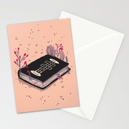 my favorite book Stationery Cards