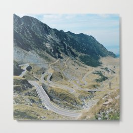 The Best Road in the World Metal Print