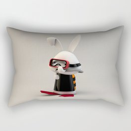 Diver Rectangular Pillow