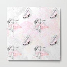 Figure Skating #6 Metal Print