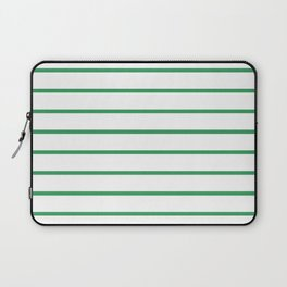 Kelly Green Breton Stripes Laptop Sleeve