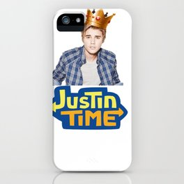 Justin B,.with Crown iPhone Case