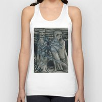 hunting Tank Tops featuring Hunting by GLR67