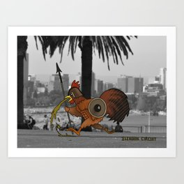 Ilchook Circuit Art Print