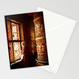 Tibetan Buddhist of Boudhanath Stupa, Kathmandu, Nepal Stationery Cards
