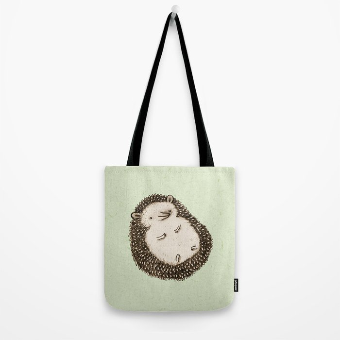 Plump Hedgehog Tote Bag