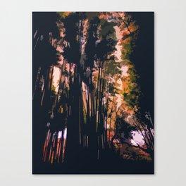 Mysterious Komorebi Canvas Print
