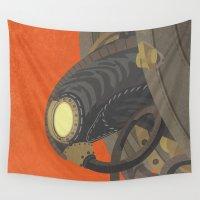 bioshock Wall Tapestries featuring SongBird - BioShock Infinite by LindseyCowley