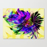 fancy Canvas Prints featuring Fancy by Art-Motiva
