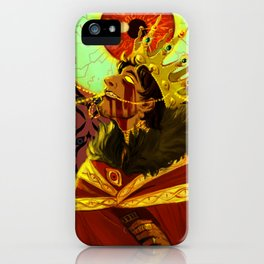 The Watcher's Crown iPhone Case