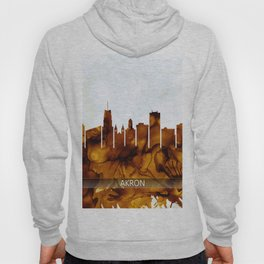 Akron Ohio Skyline Hoody