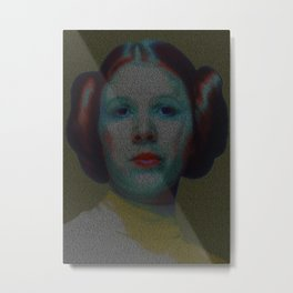 Alderaan Girl Metal Print
