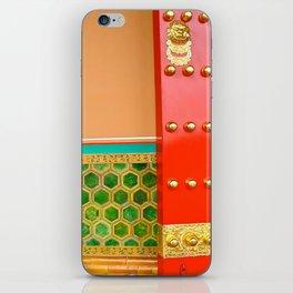 Red Door in the Forbidden City iPhone Skin