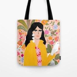 Doves Paradise Tote Bag