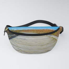 Point Pelee National Park Boardwalk in Leamington ON, Canada Fanny Pack