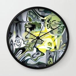 Liquified World Wall Clock