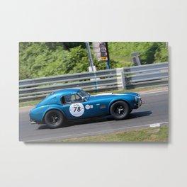 Cobra 289 Sports Car Le Mans Classic Metal Print